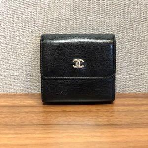 Black Vintage Chanel Wallet